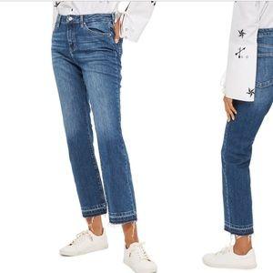 NWOT Topshop dree jeans